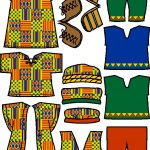 African Paper Doll Friends