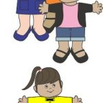 Campbell, Jamila, Alejandra Brownie Paper Doll Friends