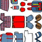 Back to School Doll Clothes in color