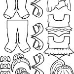Ballerina Paper Doll Clothes