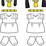 Bangladesh Girl Guide Paper Doll Friends