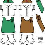 Haitian Jeanette and Guide Uniforms for Paper Doll Friends