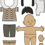 Inuit Paper Doll Color