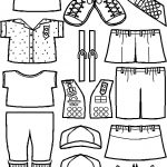 Uniforms for Junior Girl Scout Paper Doll Friends