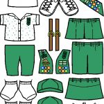 Uniforms for Junior Girl Scout Friends in color