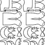 Leprechaun Paper Doll Friends hairstyles