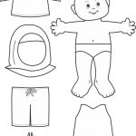Paper Doll Muslim Outline