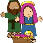 Nativity Paper Doll Friends