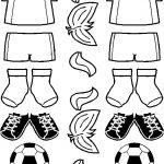 Soccer Paper Doll Friends
