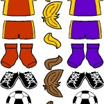 Soccer Friends Color Uniforms