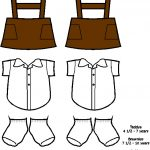 South African Paper Doll Uniforms