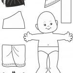 Thai Paper Doll Outline