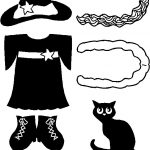 Witch Clothes for Paper Doll Friends