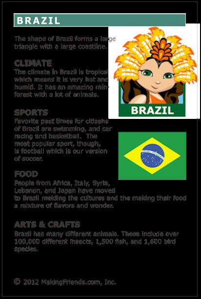Facts About Brazil Makingfriendsmakingfriends