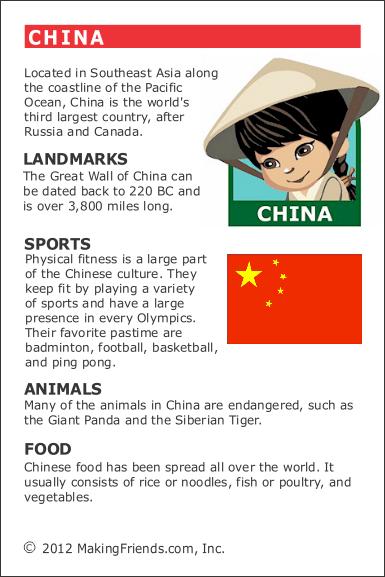 Facts about China - MakingFriendsMakingFriends - photo#25