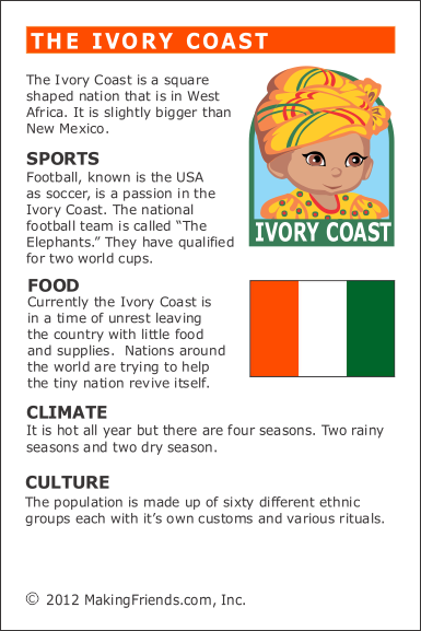 facts about ivory coast