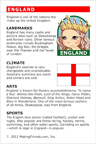 facts about england   makingfriendsmakingfriends