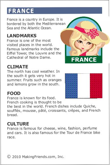 Frankreich Steckbrief