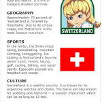 Facts about Switzerland
