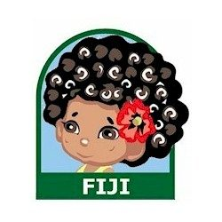 Girl Scout Fiji Fun Patch