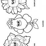 Flower Friends Coloring Page 4
