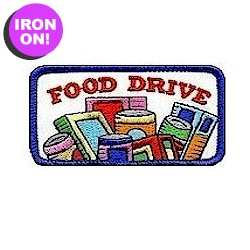 Food Drive Service Patch