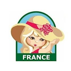 Girl Scout France Fun Patch