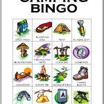 Camping Bingo Card 1