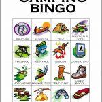 Camping Bingo Card 10