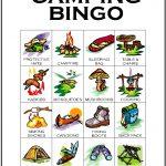 Camping Bingo Card 11
