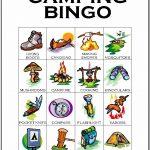 Camping Bingo Card 3