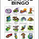 Camping Bingo Card 5