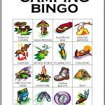 Camping Bingo Card 6