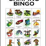 Camping Bingo Card 7