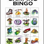 Camping Bingo Card 8