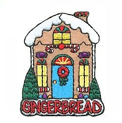 Girl Scout Gingerbread Fun Patch