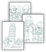 girl guide coloring page printables - Girl Scout Camping Coloring Pages