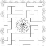 Girl Scout Daisy Blue Promise Center Maze
