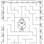 Daisy Green Petal Maze