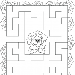 Girl Scout Daisy Rose Petal Maze