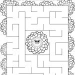 Daisy Spring Green Petal Maze
