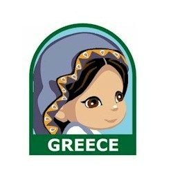 Girl Scout Greece Fun Patch