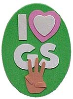 I Love GS Magnet