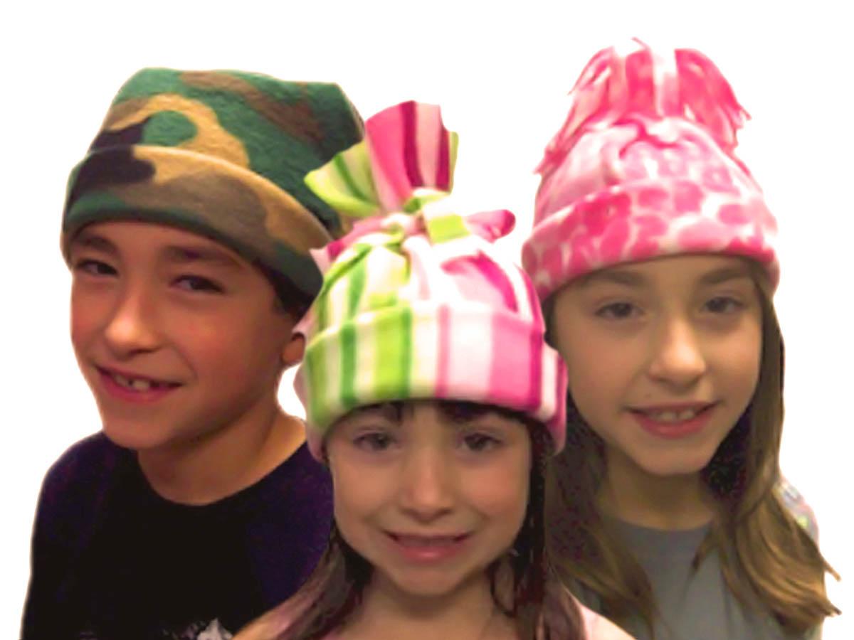 Hats for the homeless kit