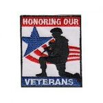 Girl Scout Honoring Veterans Fun Patch