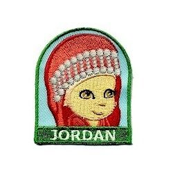 Girl Scout Jordan Fun Patch