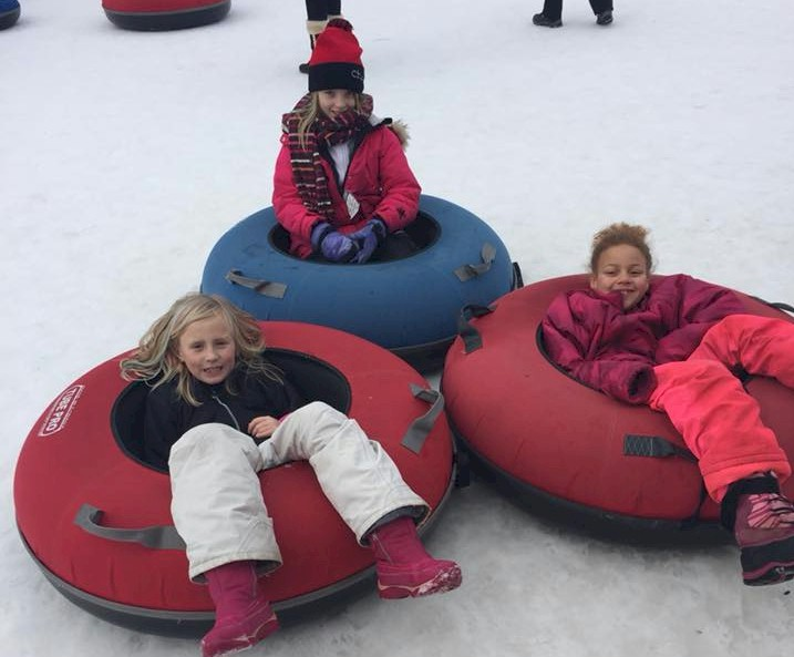 Junior Girl Scout Tubing