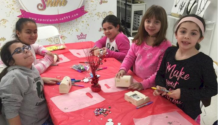 Junior Girl Valentine Party