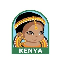 Kenya Patch. Make the Kenya Patch part of learning about life in a country located directly on the equator, the wildlife (lions, leopards, elephants, buffalo and rhino)or any of the other wonderful cultural aspects of Kenya. Looking for more ideas for your Kenya Thinking Day booth? You'll find friendship swaps, games, crafts and more on our page Kenya | Ideas for Thinking Day*. via @gsleader411