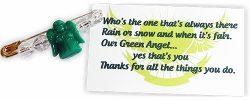 Girl Scout Green Angel SWAP Kit
